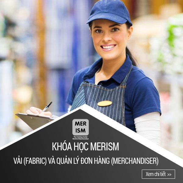 Khóa học quản lý đơn hàng Merism